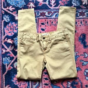 FREE PEOPLE Tan Skinny Jeans Size 26